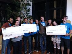 Congrats to Reciprocity student Maria Lopez Latorre (Autonomous University of Barcelona) and her team for taking 2nd place at HACK UCSC 2014 - a 30 hour sprint of coding & developing in which students create new mobile apps and web programs from scratch.
