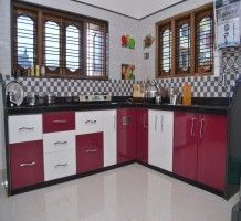 More ideas below: Indian Modular Kitchen Ideas Sma. More ideas below Kitchen Cabinet Styles, Kitchen Cabinet Remodel, Modern Kitchen Cabinets, Modern Farmhouse Kitchens, Farmhouse Kitchen Decor, Kitchen Layout, New Kitchen, Kitchen Reno, L Shaped Modular Kitchen