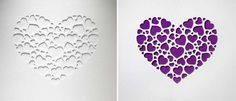 Make this chic Valentine's Day card, or turn it into artwork!