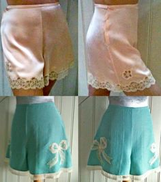 1940's style french knickers This website has some great patterns and drafting tutorials!