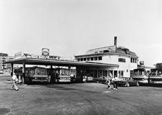 Shell Salomonkatu ennen purkamista 1973. (Kuva Hgin kaupunginmuseo, Nasakuva)