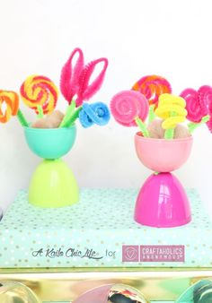 Craftaholics Anonymous® | still have easter eggs? use this idea to help reuse a few. Kids love the craft!