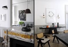 Stunning Parisian apartment by architect and interior designer Joseph Dirand.