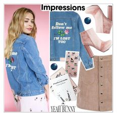 """""""Impressions"""" by teoecar ❤ liked on Polyvore featuring Yeah Bunny, Charlotte Russe and YeahBunny"""