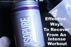 4 Effective Ways to Recover From An Intense Workout