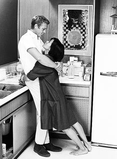 """Neile Adams & Steve McQueen. Terence Stephen """"Steve"""" McQueen & Ruby Neilam """"Neile Adams"""" Arrastia y Salvador. John Dominis—Time & Life Pictures/Getty Images. """"I was very surprised"""" when Steve and Neile divorced in 1972, says Dominis. """"But I lived in New York, and I never saw them once [after the shoot]. We weren't real friends, but we were friendly. They liked me, and they had a silver mug made: 'To John Dominis, for work beyond the call of duty.' And I've still got it."""""""
