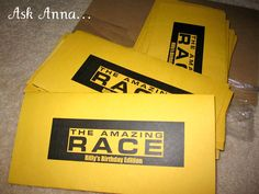 Amazing Race Party - fundraising event possibility