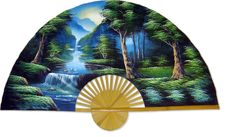 Colorful , Enchanting and Trendy Oriental Wall Fans Asian Wall Decor, Wall Art Decor, Tree Wall Art, Canvas Wall Art, Moroccan Wall Art, Japanese Wall, Paris Wall Art, Folding Walls, Oriental Decor
