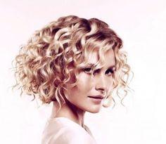 Loose Wavy Bob Hairstyle | Angled Bob Hairstyles In Curly Styles 300x261 Angled Bob Hairstyles ...