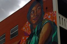 Adelaide Central YHA. Artist: Vans the Omega. Cnr Tatham St and Waymouth St, Adelaide. Photo: Trentino Priori.