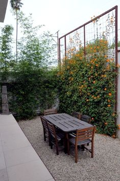 Looking for ideas to decorate your garden fence? Add some style or a little privacy with Garden Screening ideas. See more ideas about Garden fences, Garden privacy and Backyard privacy. Cheap Privacy Fence, Privacy Fence Landscaping, Privacy Fence Designs, Privacy Plants, Backyard Fences, Modern Landscaping, Landscaping Ideas, Privacy Trellis, Backyard Ideas
