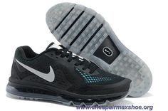 Discounts Mens Nike Air Max 2014 Black Jade Silver Shoes 621078-008 Silver  Shoes a0b8205deea4c
