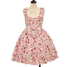 Worldwide shipping available ♪ Gothic & Lolita Fashion  Jumper Skirt (Red) https://www.wunderwelt.jp/en/brands/lolita-fashion/jumper-skirt  IOS application ☆ Alice Holic ☆ release Japanese: https://aliceholic.com/ English: http://en.aliceholic.com/