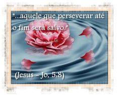 """Grupo Espíritas """"...aquele que perseverar até o fim será salvo."""" (Jesus - Jo, 5:8)  """"... he that endureth to the end shall be saved."""" (Jesus - Jn 5: 8)"""