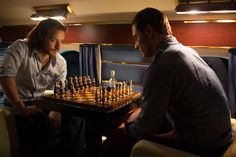 DOFP... Chess makes everything beter... Cherik therapy session!