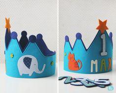 Aquí teniu un segon recull de les corones d'aniversari fetes aquest estiu! Espero que tots els nens i nenes hagin gaudit del seu dia a tope!