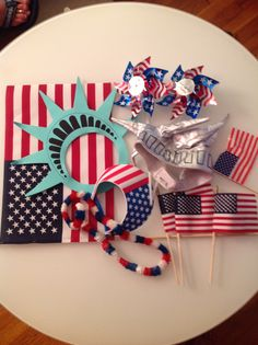 4th of july photo prop ideas