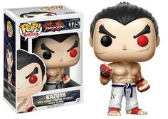 Funko Pop! Games now includes the legendary fighting game Tekken!   Choose between Heihachi, Tekken King, Jin Kazama, Nina Williams, and Kazuya! Pop! Games: Tekken!      Coming in March!