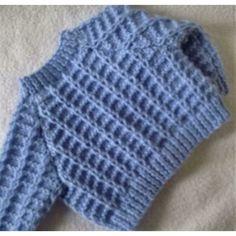 Little Loops baby cardigan Knitting pattern by Seasonknits Love Knitting, Baby Cardigan Knitting Pattern, Baby Knitting Patterns, Kids Knitting, Beginner Knitting, Sweater Patterns, Baby Boy Vest, Baby Scarf, Crochet Bebe