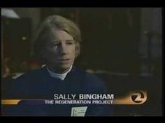 The Rev. Sally Bingham shows An Inconvenient Truth