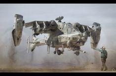 Mil MI-84 Hydra - Alex Caldow Concepts