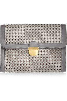 Stella McCartney Woven Faux Leather