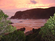 Nice sunset shot of the Western Head, in Knysna. Marine Reserves, Knysna, Wilderness, South Africa, Lush, Swimming Pools, Westerns, Cape, Southern