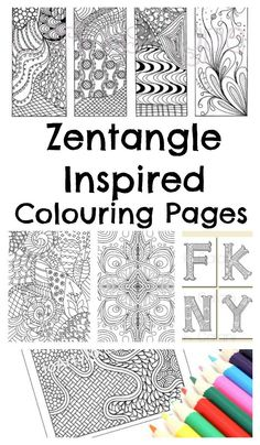 148 Best Grown Up Colouring Images On Pinterest
