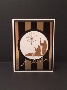 Every Blessing, Christmas Greetings Thinlits, Winter Wonderland Specialty DSP, Circles Collection Framelits, Pearl (by Maureen Barry)