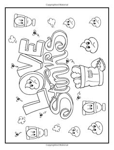 Queens Of Coloring January 2017 Issue Farm Coloring Pages, Unicorn Coloring Pages, Printable Adult Coloring Pages, Coloring Pages To Print, Coloring Books, Coloring Sheets, Swear Word Coloring Book, Valentine Coloring Pages, Queens