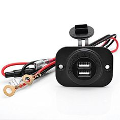 Xseries Auto™ Boat Marine Carvans 12V Waterproof Power Outlet Cigarette Lighter Socket 2.1A Dual USB Charger Panel Flush Mount For Benelli Aprilia KTM BMW Xseries Auto http://www.amazon.com/dp/B010F2NTQY/ref=cm_sw_r_pi_dp_-ydWvb1VB0D5Y