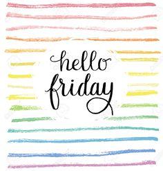 Hello friday!❤️