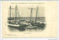 Argentine, goélettes de cabotage à Rosario