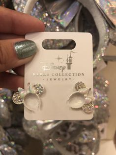 Minnie Ear Jewelry in Our Favorite Color Trends Minnie Ear Jewelry in Our Favorite Color TrendsYou can find Disney jewelry and more on our . Ear Jewelry, Rose Gold Jewelry, Cute Jewelry, Jewelry Accessories, Women Jewelry, Jewlery, Jewelry Ideas, Fashion Jewelry, Jewelry Stand