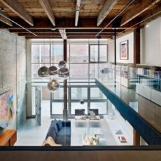 Oriental Warehouse Loft Conversion in San Francisco.