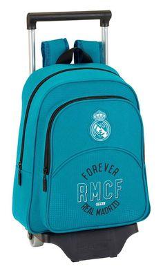 Safta Mochila Infantil Real Madrid 3ª Equip. 17/18 Oficial Con Carro Safta 125x95mm: Amazon.es: Equipaje Real Madrid, Baggage, Backpacks, Products