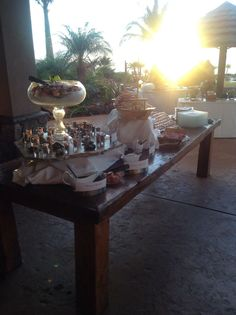 Seafood Tower, Food Stations, Maui Weddings, Tablescapes, Catering, Wedding Planner, Table Settings, Table Decorations, Buffets