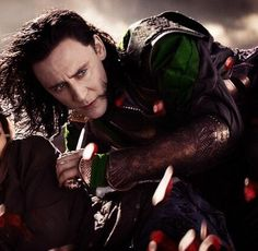 Loki - Thor the Dark World... Even though Tom Hiddleston is VERY attractive physically, what won me over was his fantastic ability to portray the role of Loki. You can easily see that he puts his all into the role he plays and when someone does something they truly love, it is easy to see the passion in his eyes.