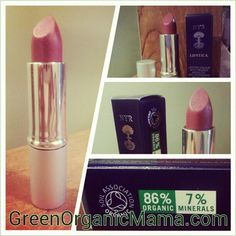 My new favorite lipstick!  Pomegranate by NYR Organic.  86% organic.  Naturally beautiful rose shade.  Long-lasting, non-drying, paraben-free, GMO-free, carmine-free.  Six gorgeous shades in total.  Replaces my long-time favorite NARS Dolce Vita.