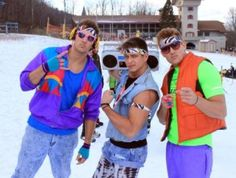 Beech Mountain Resort: Ski and Snowboard Coachella Outfit Men, 80s Outfit, 80s Theme Party Outfits, 80s Party, Party Time, 80s Fashion, Party Fashion, 1980s Costume, Costumes