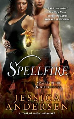 Cover Reveal: Spellfire by Jessica Andersen. Coming 11/6/2012