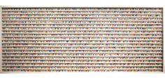 Joanne Tinker, 'Big Goblets', 250 x sweet wrappers