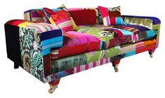 sofá patchwork.