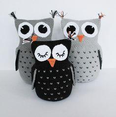 Mesmerizing Crochet an Amigurumi Rabbit Ideas. Lovely Crochet an Amigurumi Rabbit Ideas. Owl Crochet Pattern Free, Crochet Owls, Crochet Patterns Amigurumi, Crochet For Kids, Crochet Animals, Free Crochet, Free Pattern, Amigurumi Tutorial, Knitted Owl