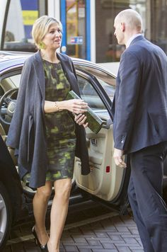 Queen Maxima attended OECD Global Symposium at the Beurs van Berlage in Amsterdam