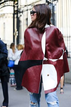 Glamorous street style at Paris Haute Couture Fashion Week