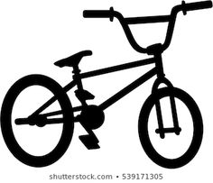 BMX woord met silhouet uitsparing stockvector (rechtenvrij) 539109919 Bike Bmx, Bmx Bikes, Bike Silhouette, Bicycle Drawing, Bike Sketch, Painting & Drawing, Sketches, Recherche Google, Template