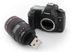 Tiny Canon 5D Mark II USB Flash Drive - Cliche or too perfect for backing up pics?