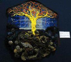 Hang-ups! - travelling freeform crochet exhibition - Prudence Mapstone - Picasa-Webalben