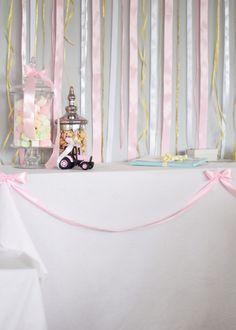 Pink baptism dåp cute diy  gold